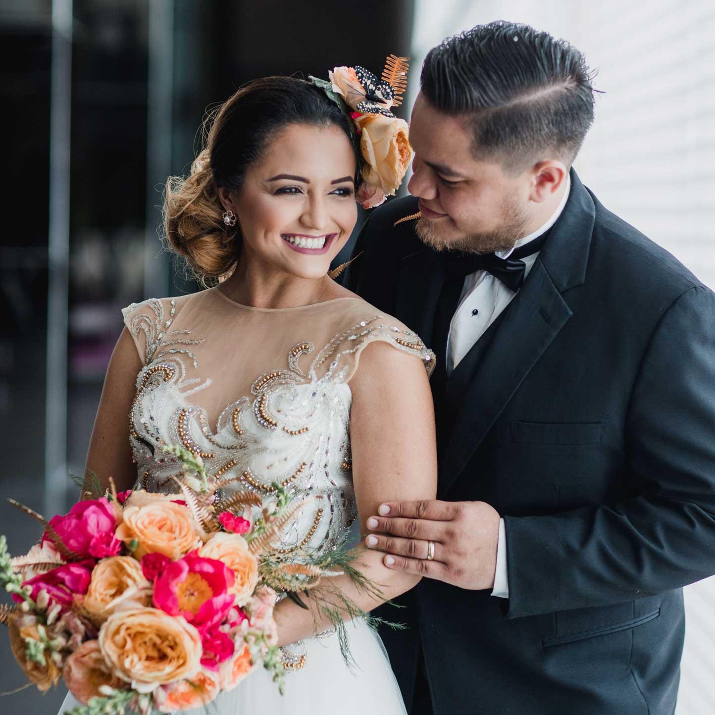 Wedding Bride Bridesmaids Makeup Hairstyle Nails Lashes Spray Tan Wax Barber
