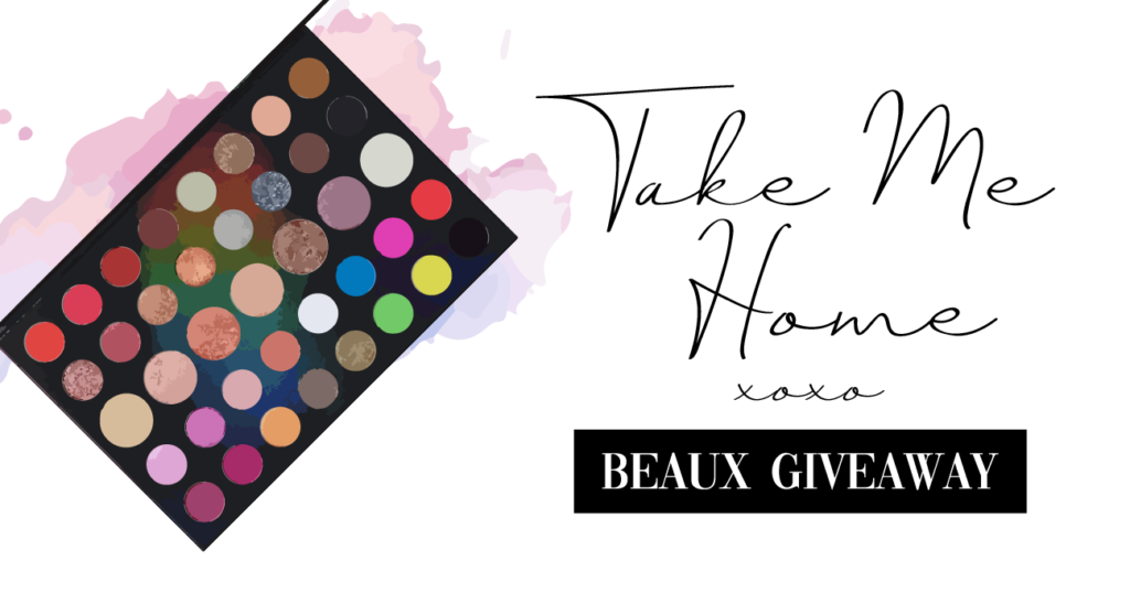 Morphe 39L Hit The Lights Makeup Palette Beauty Makeup Hair Giveaway Contest Sweepstakes Instagram Stories